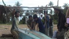 wawancara dengan para nelayan