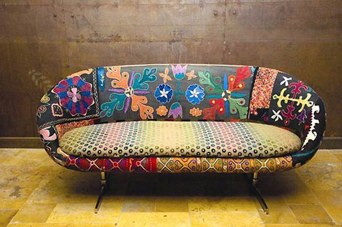 Vintage retro furniture retro patio furniture is the - Como tapizar un sofa ...