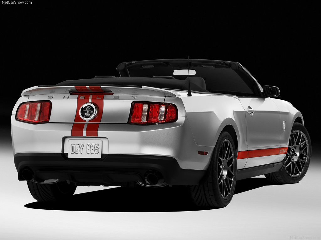cars library ford mustang shelby gt500 convertible 2011. Black Bedroom Furniture Sets. Home Design Ideas