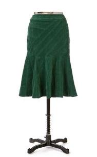 Asymmetrical Stitching Skirt