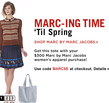 Free Marc Jacobs Tote at Saks