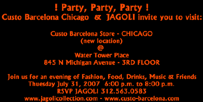 Custo Store CHICAGO Party