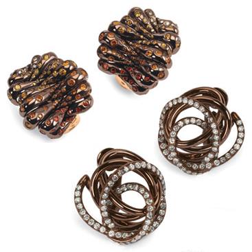 chocolate gold jewelry