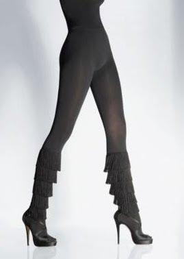 Fringe Tights