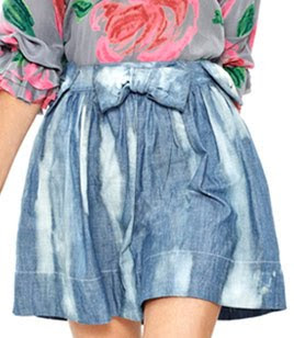 Girly Denim Skirt