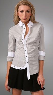 Asymmetrical Blouse