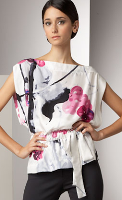 Abstract Cherry Blossom Top