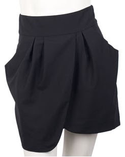 Deep Pocket Tulip Skirt