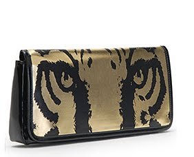 Tiger Eyes Clutch