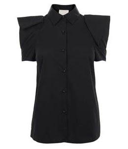 Oragami Sleeve Blouse