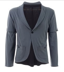 Removable Sleeves Blazer