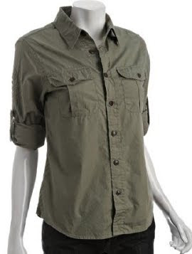 Military Button Down