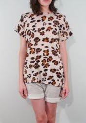 Leopard Knit Tee