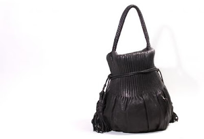 Accordion Bucket Bag