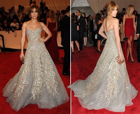 Dress Sale on Spotlight On You  Zuhair Murad Dresses J Lo At Met Gala 2010