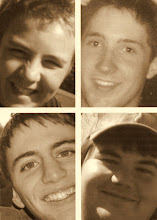 "Our ""Adopted"" Sons ~Matt, Billy, Brad, & Justin~"