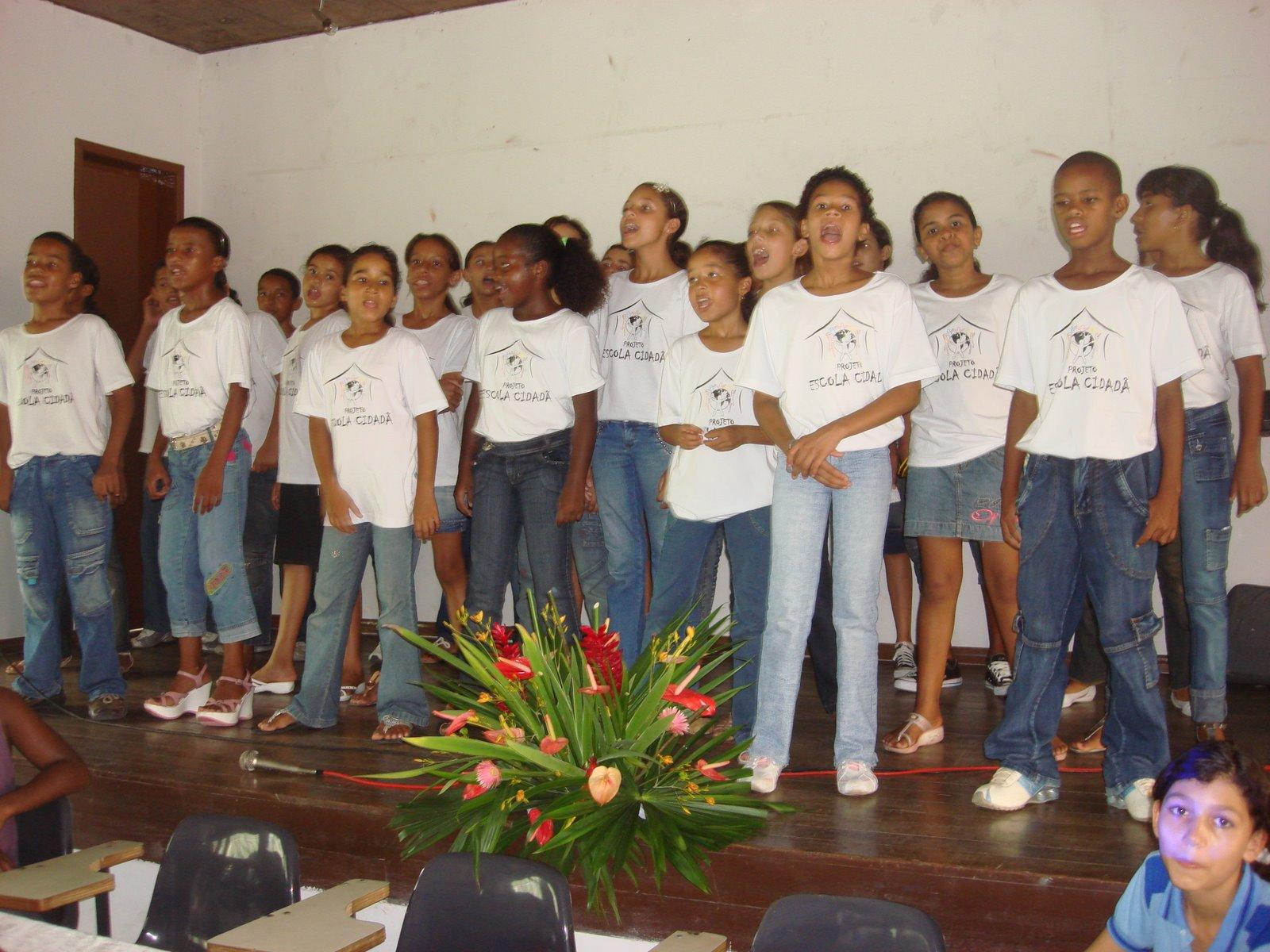 Lançamento do Projeto Escola Cidadã