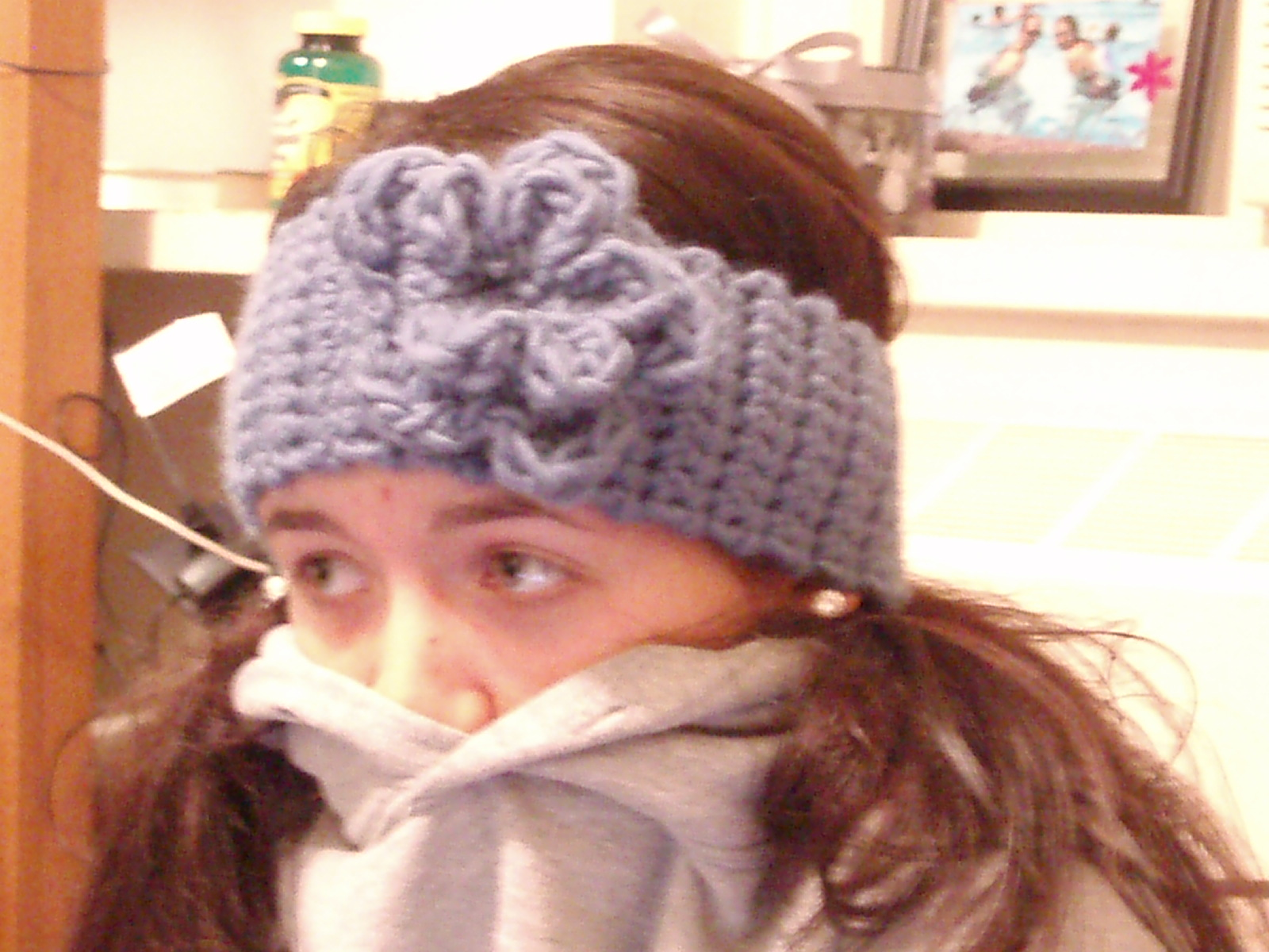 Crochet Patterns Head Warmers : Adventures of an Amateur: Big Crochet Head Warmer