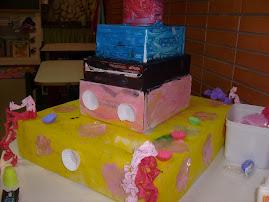 um bolo para nossa cidade!!!