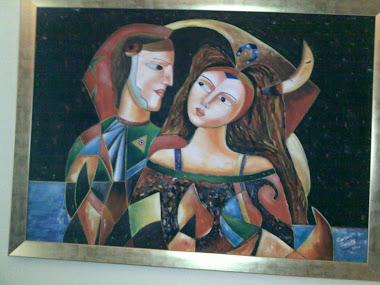 canan Dengiz'in tablolarından