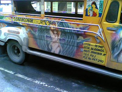 Solstice+jip - Painting a Jeepney - Philippine Photo Gallery