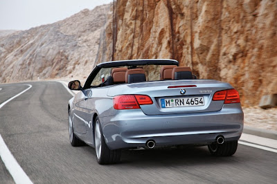 2011 BMW 3-Series Convertible Rear View