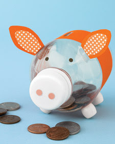 Tutus and turtles make your own piggy bank for Create your own piggy bank