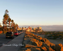 Coronado Daily Sunset Ocean Avenue