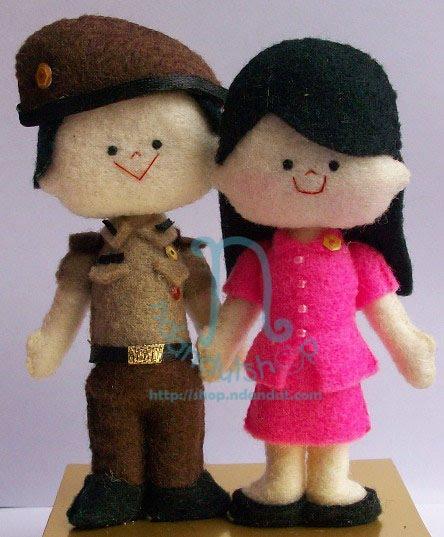 boneka TNI yang cukup bikin juling @_@
