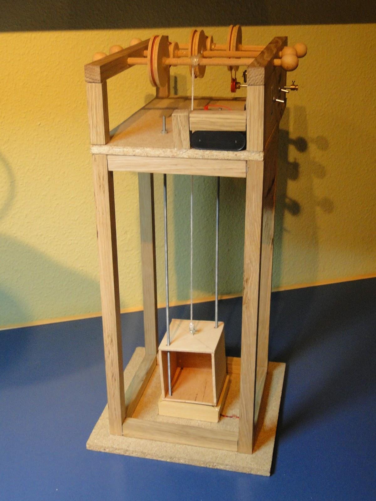 Proyectos tecno trictor ascensor de madera - Proyectos de madera ...