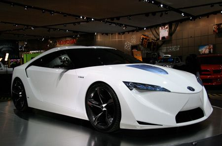 Toyota's FT-HS concept car