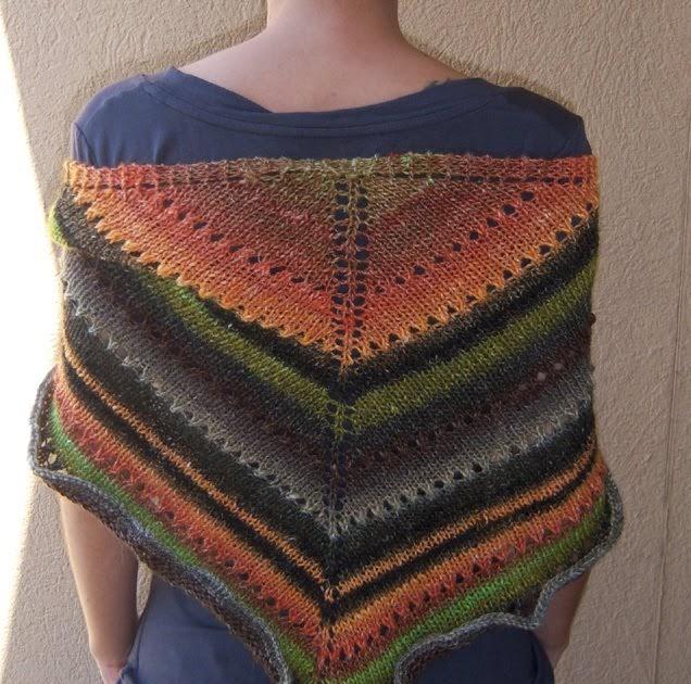 Knitting Stitches Yb : Eliade: Tortuga Shawl FREE version pattern [ENG]