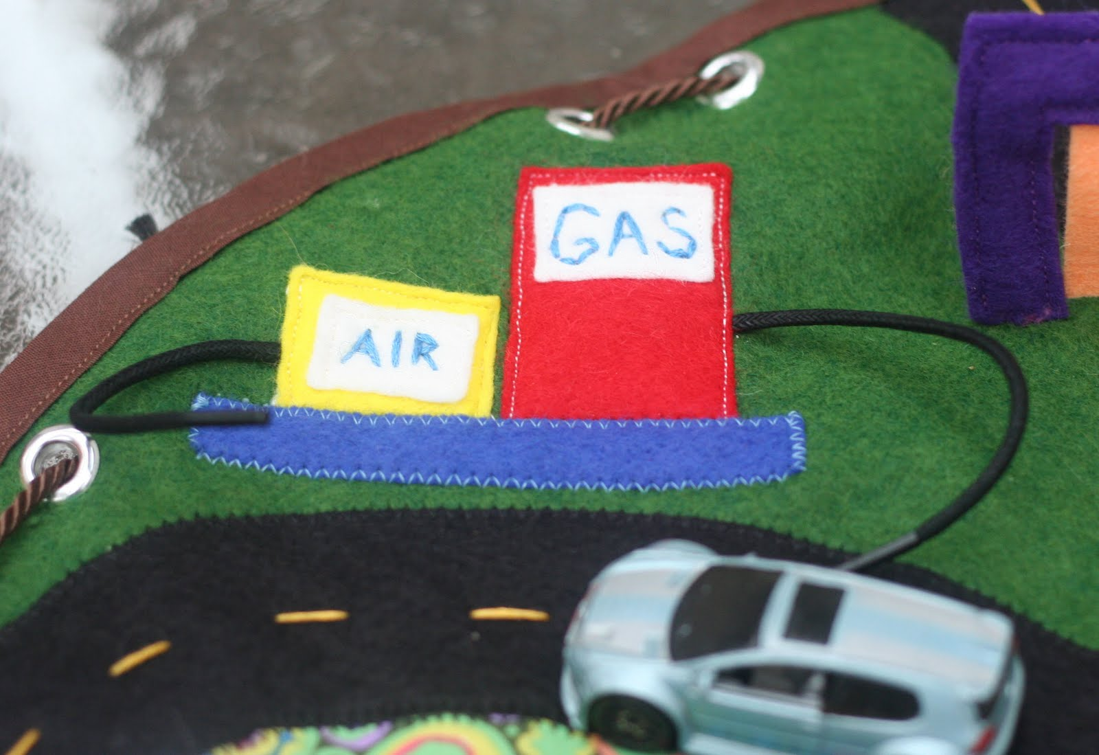 Adventures At Home Homemade Gifts Car Playmat Sewing