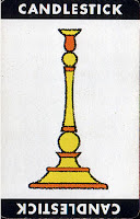 clue weapon card Candlestick
