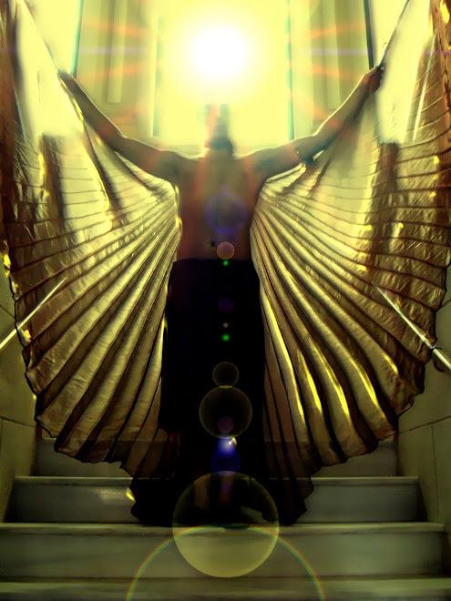 angel egipcio