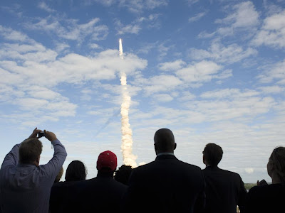STS-129 launches