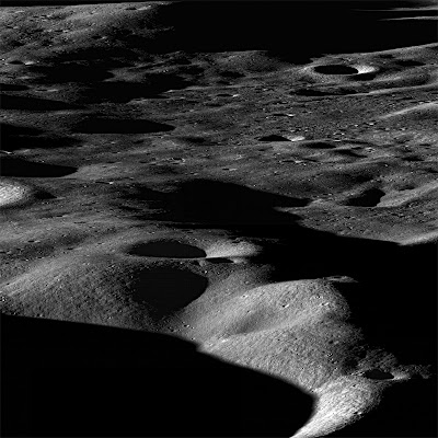 LROC image of the moon's surface