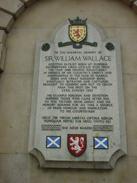 william wallace braveheart. William Wallace Day