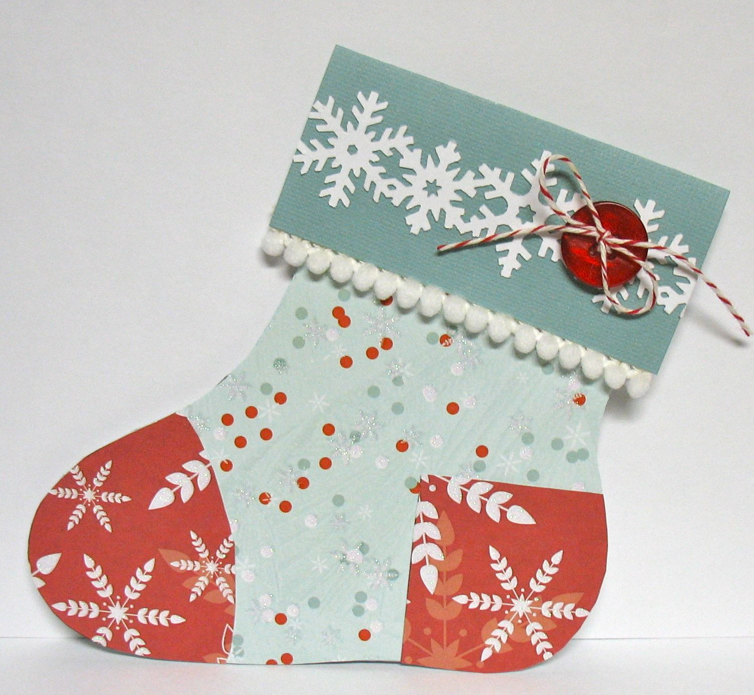 Cullen-ary Creations: Stocking Gift Card Holder