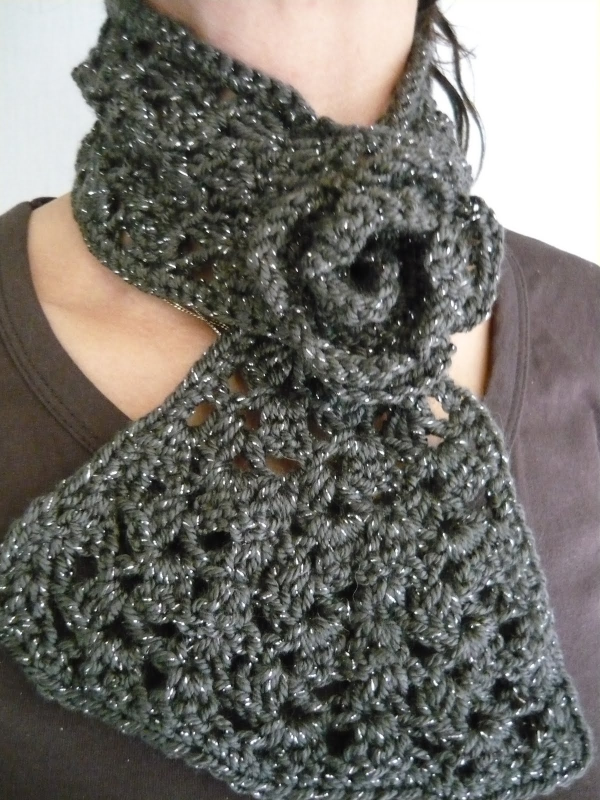 DETEXO tejidos artesanales: Cuello en crochet.