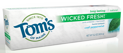 Toms of Maine Wicked Fresh Toothpaste