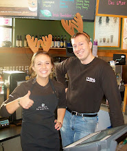 Caribou Baristas Thumbs-up the Season!