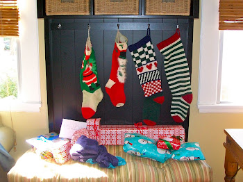 And stockings hung in the rental with care ....