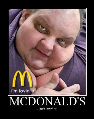 Funny Motivational Pictures: Funny Pic He's Lovin it!