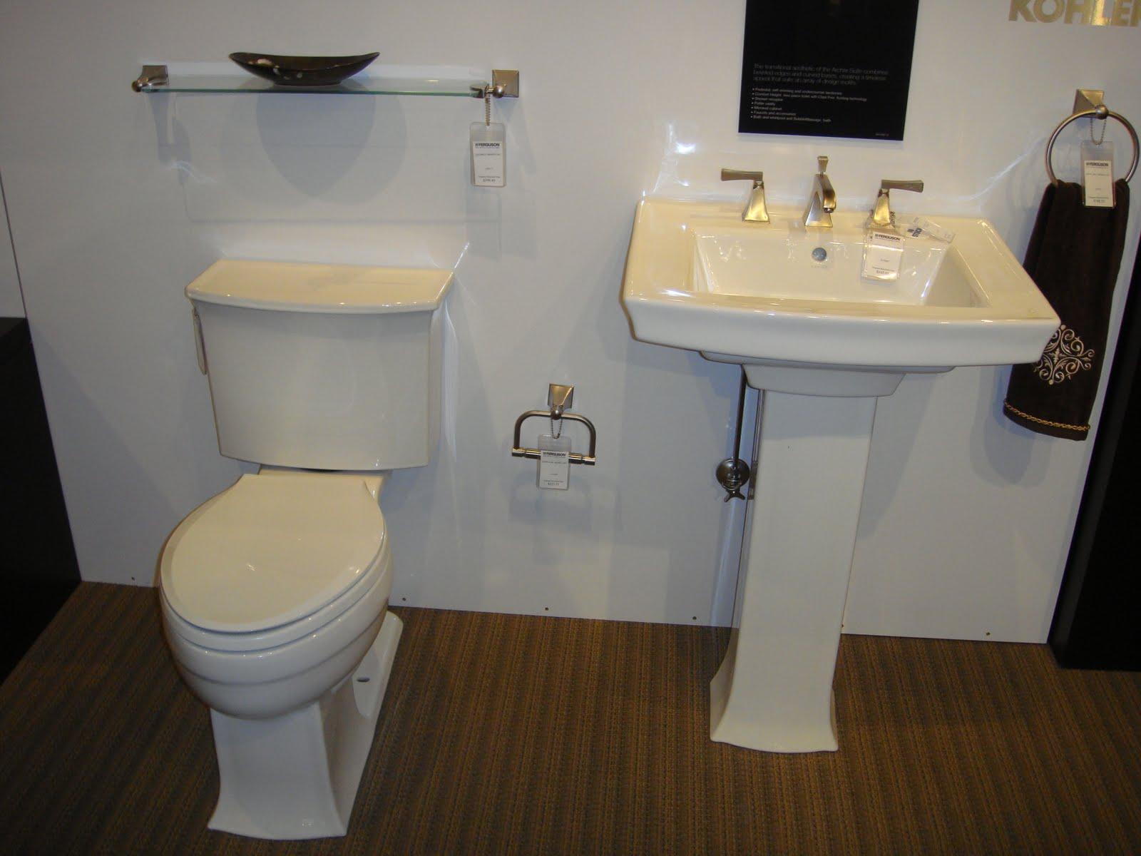 Kohler Archer Toilet Kohler Archer Pedestal Sink