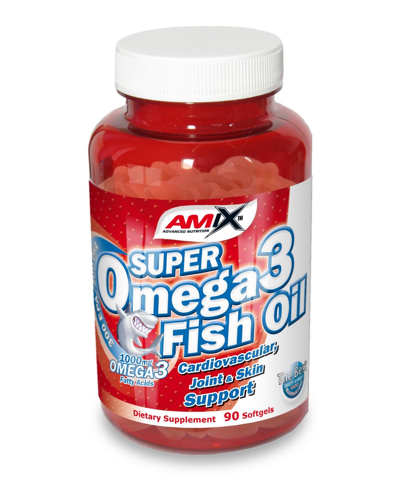 Suplementos deportivos amix super omega 3 90 capsulas for Fish oil beneficios