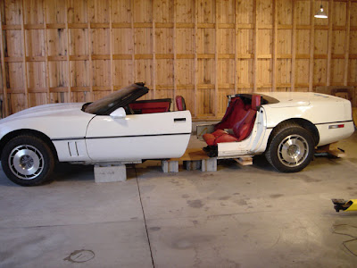 Cool and sport cars 4 door Corvette convertible for sale