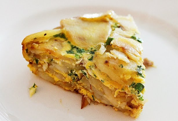 Potato Frittata by The Comfort of Cooking