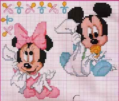 Graficos Baby Disney em Ponto Cruz