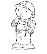 Desenhos de Bob, o construtor para colorir (constructor bob )